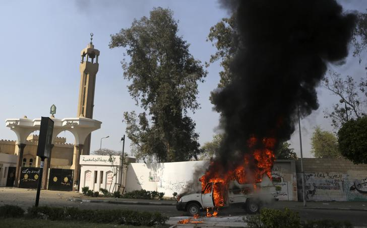 UPDATE l One dead and three wounded in Cairo explosions
