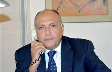 Egypt's foreign minister visits Saudi Arabia to discuss bilateral relations, regional issues