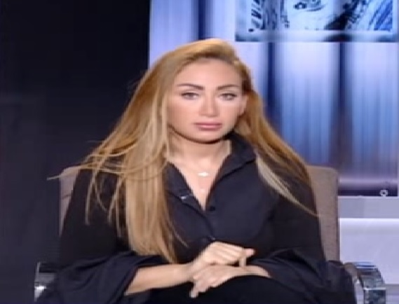 Controversial TV anchorwoman Riham Saeed resigns as channel suspends her show