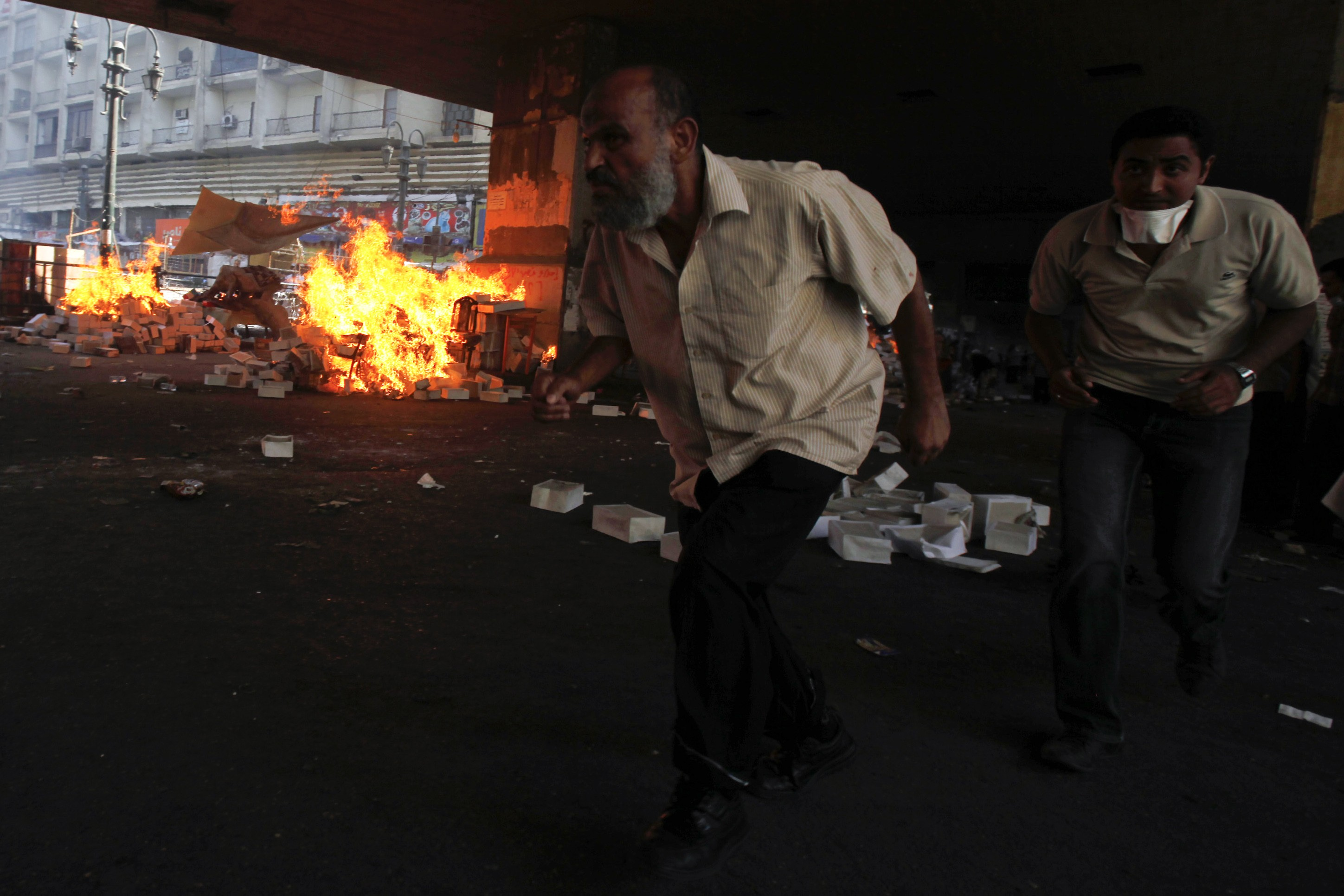 Court charges 16 Mursi supporters with Oct. 6 violence