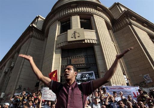 Egypt's Appeals Court joins strike against Mursi decree