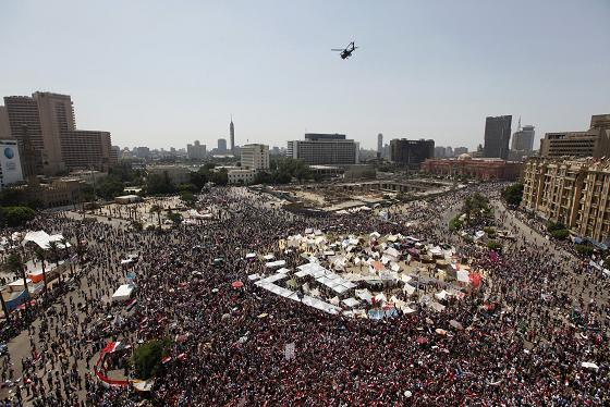 Updates on protests against Mursi after his first year in office