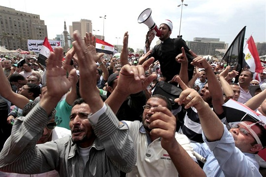Egypt's opposition protest new constitution