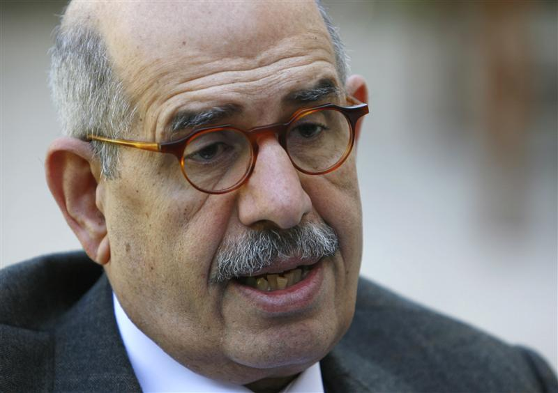 ElBaradei addresses absence of