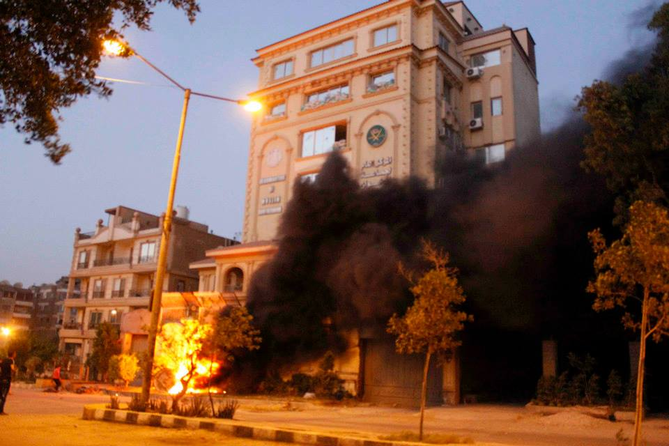Court sentences 8 to life for torching Brotherhood HQ