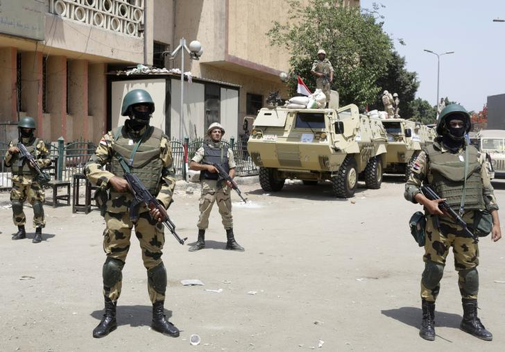 Tight security at Cairo and Giza squares ahead of Islamist protests