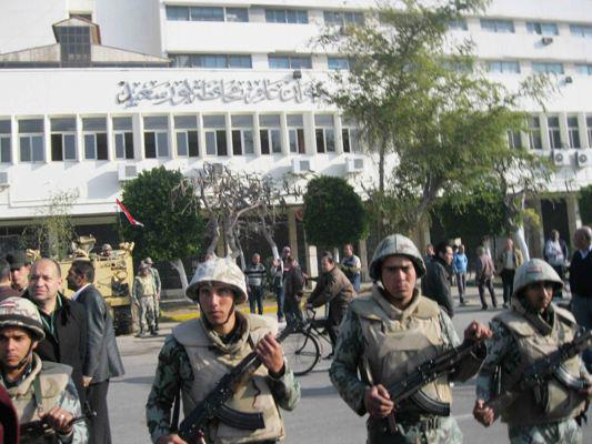 Police conscript killed in Port Said security patrol