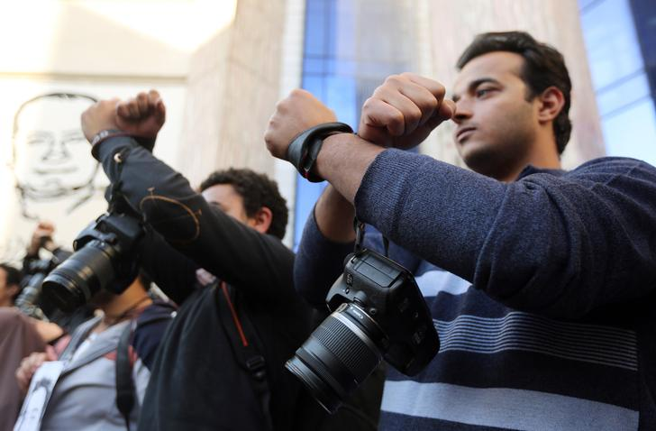 Four journalists sentenced to prison for 'publishing false information'