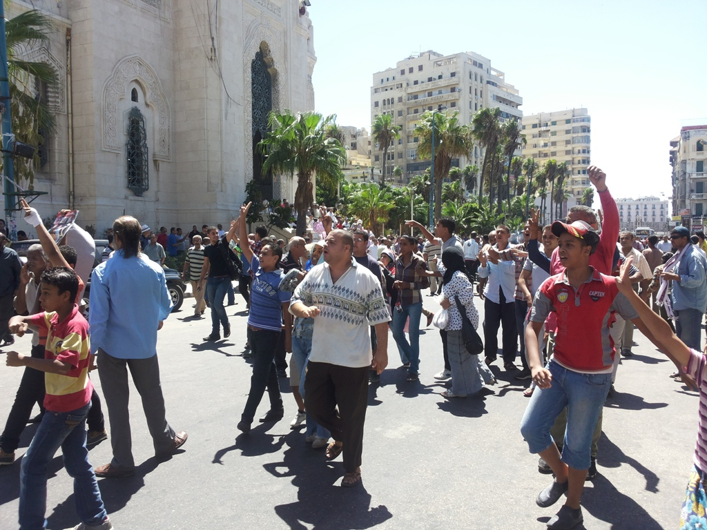 Five killed in Egypt as Brotherhood protests against army-backed rule