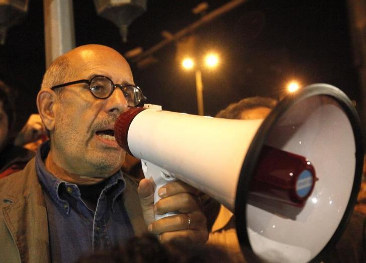 ElBaradei calls for Egyptians election boycott