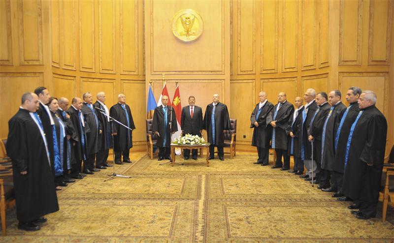 Egypt Judges Club rejects presidential statement on decree