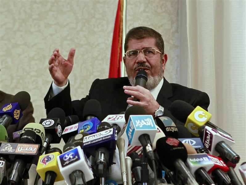 Foreign Ministry cancels diplomatic passports for Mursi and family