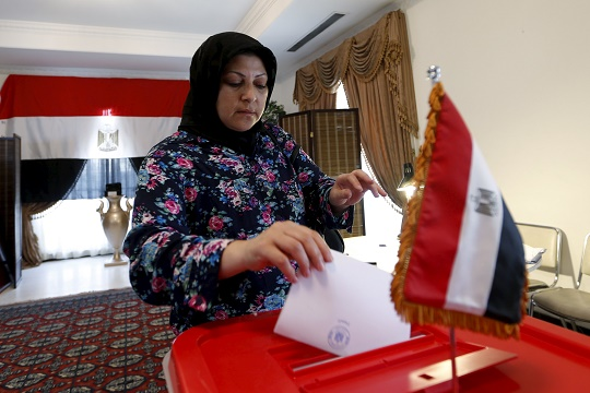 'Moderate' turnout in voting abroad in Egypt elections - diplomat
