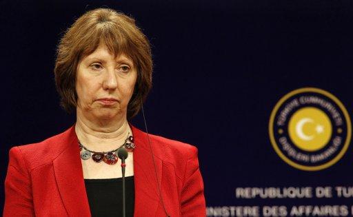 EU's Ashton arrives in Cairo for election talks