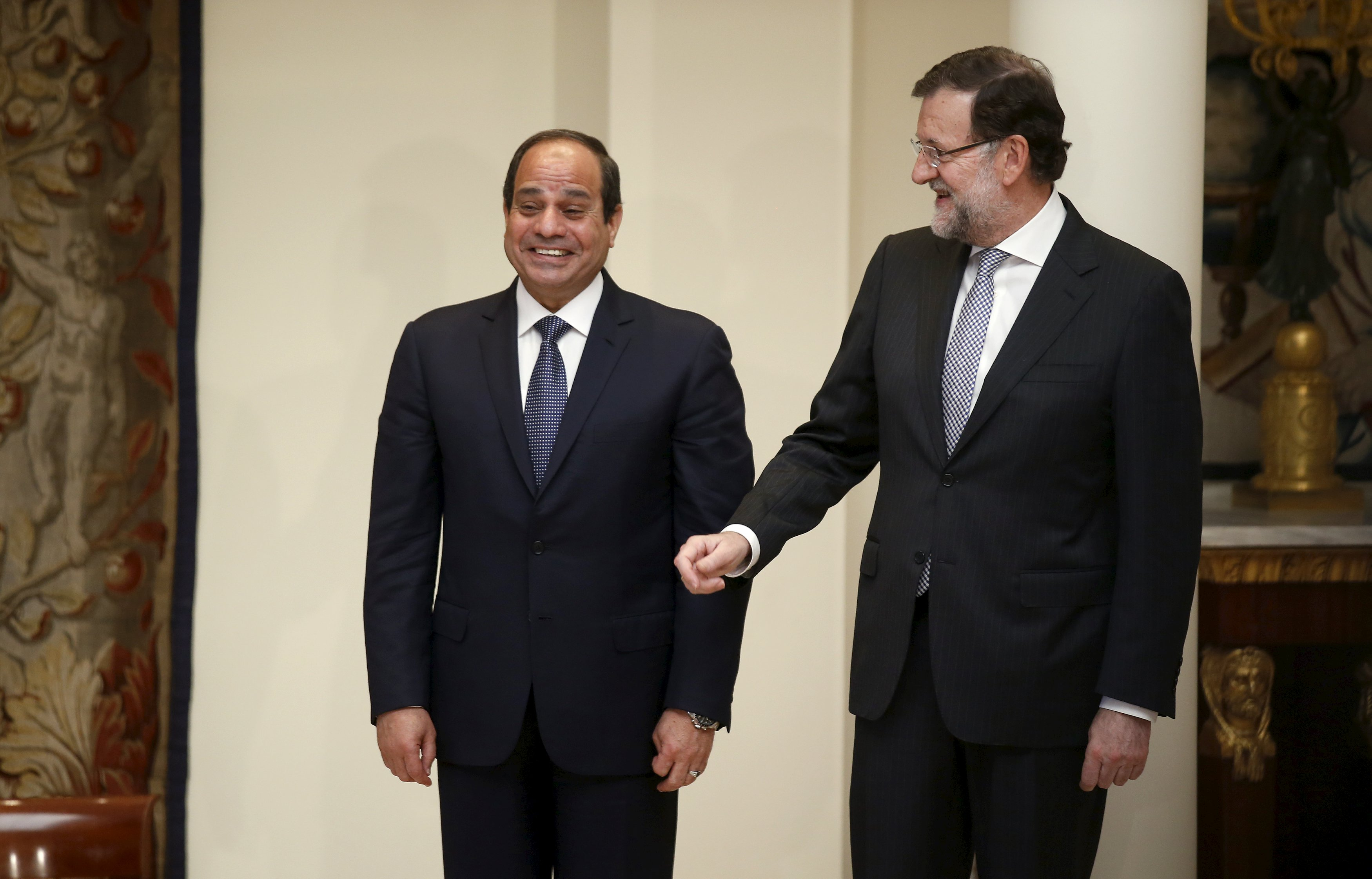 Egypt signs security cooperation agreement with Spain