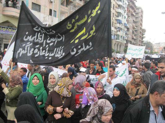 Port Said ends civil disobedience, week response in schools