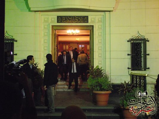 Breaking: Egypt Judges Club suspends work at all prosecution offices