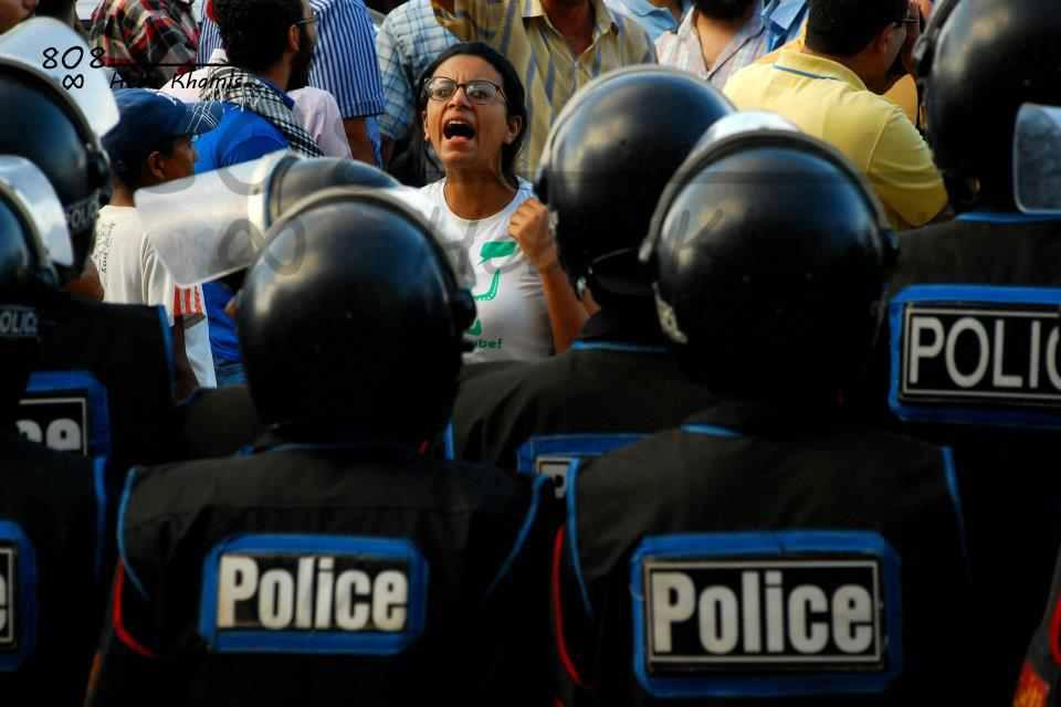 Protests in solidarity with Alexandria's detained activists