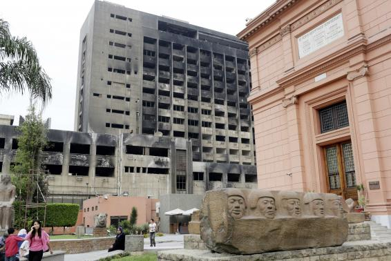 Egypt to demolish building of defunct party which ruled under Mubarak