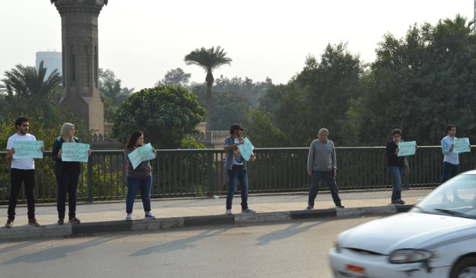 Nine detained for violating protest law on anniversary of Mohamed Mahmoud clashes