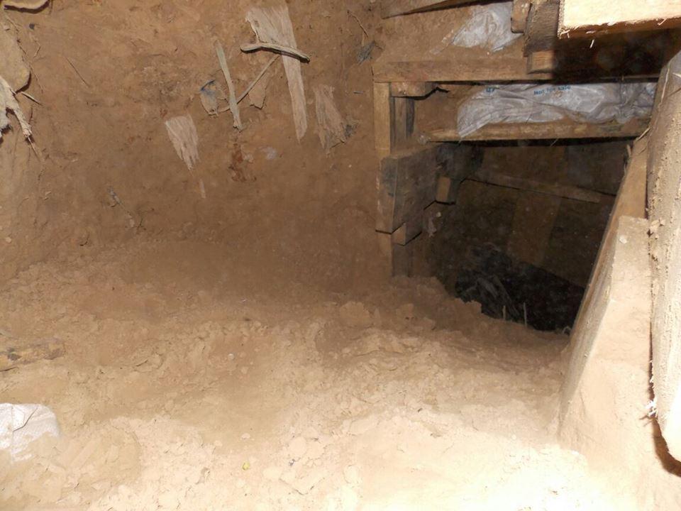2.8 kilometre-long tunnel discovered in Sinai border area - military spokesman