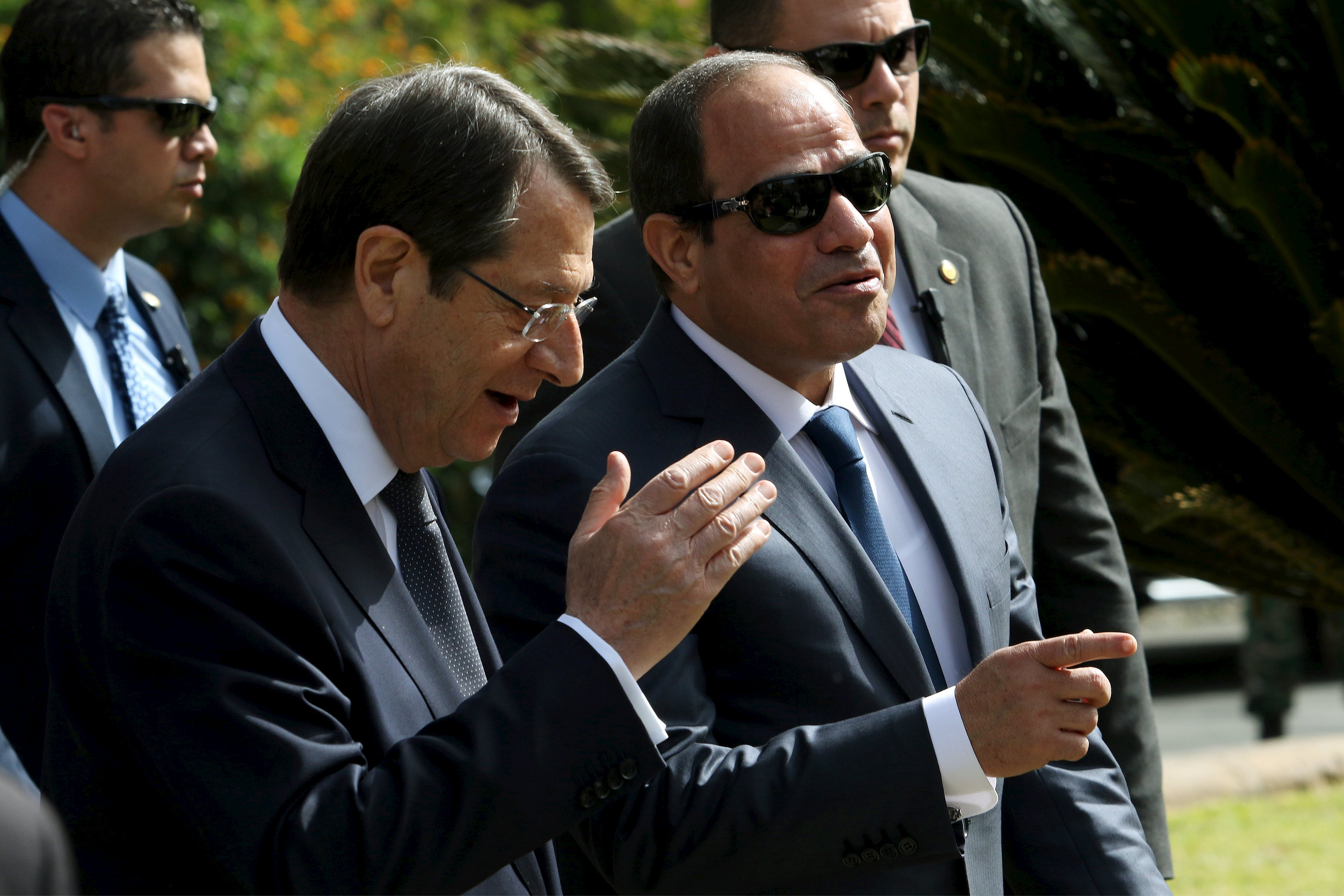 Sisi holds summit with Cypriot counterpart in Nicosia