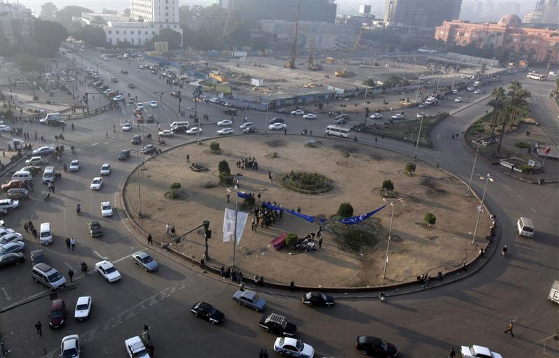 Tahrir Square calm before planned demonstrations