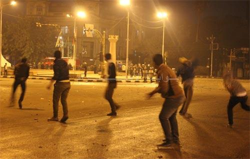 Protesters in Daqahliya teargassed after assault on security