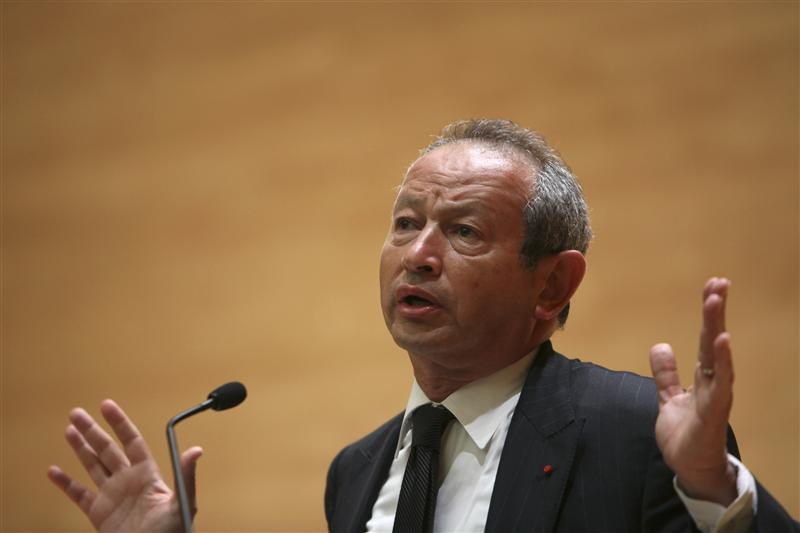 Egyptian telco tycoon Sawiris heads back to Italy