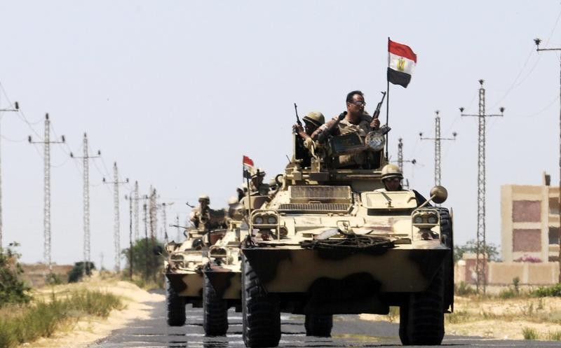Egypt's Islamic State affiliate claims responsibility for attack on Suez road checkpoint