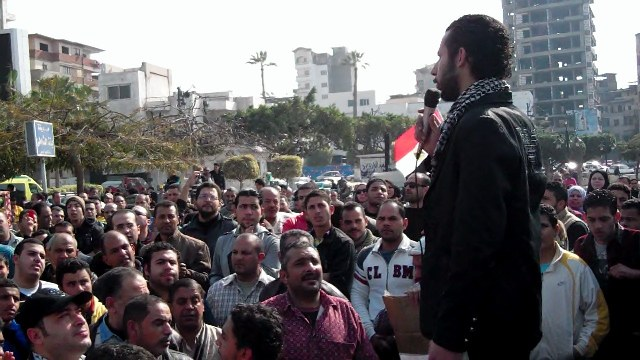Anti-Mursi chants in Damietta demonstrations