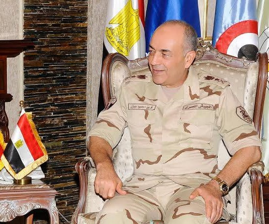 Egypt's chief of staff heads to London on official visit
