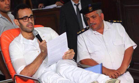 Defense of hunger striking detainee Soltan calls on judge to recuse himself