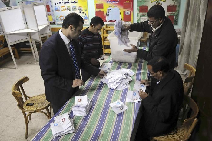 Cairo results: 43% with constitution, 56% against it