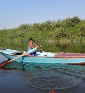 """جزيرة يونس..مملكة من """" عالم آخر """" في قلب النيل، تصوير: إيمان الوراقي - أصوات مصرية"""