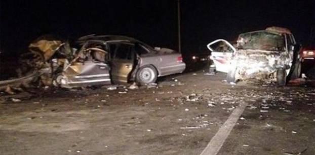 مقتل شخصين وإصابة 2 في حادث مروري بالمنيا