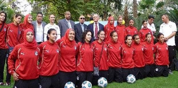 استقبال حافل لمنتخب مصر للسيدات لكرة القدم بعد تأهله لأمم أفريقيا