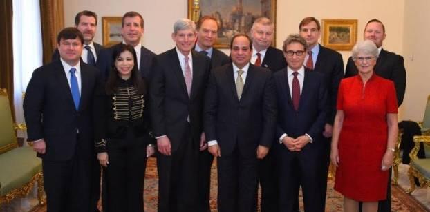 السيسي لوفد أمريكي: تنفيذ خطة تنمية متكاملة في سيناء تشمل كل الجوانب