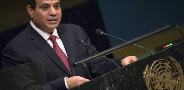 السيسي: الصراع العربي الإسرائيلي جوهر عدم الاستقرار