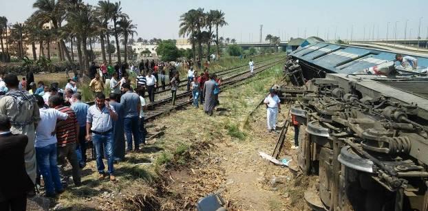 السكك الحديدية: عودة حركة القطارات لطبيعتها بخط القاهرة - طنطا