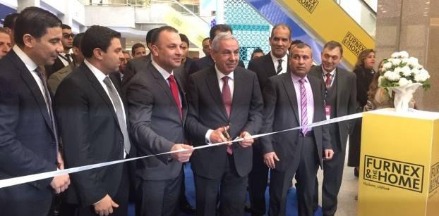 """وزير الصناعة يفتتح معرض """"فيرنكس"""" للأثاث بمشاركة 220 شركة"""