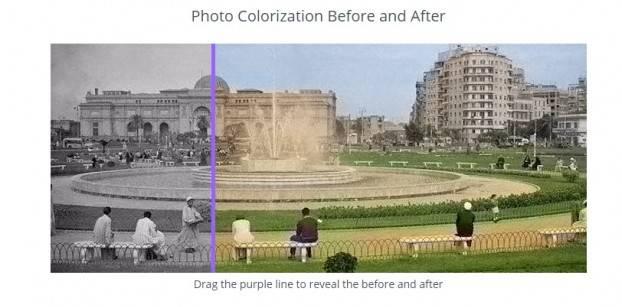مصر زمان بالألوان .. موقع جديد يلون الصور القديمة في ثوان