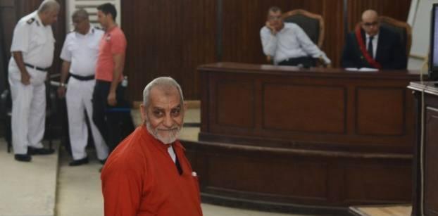 """30 مايو.. النطق بالحكم على بديع في """"أحداث الإسماعيلية"""""""