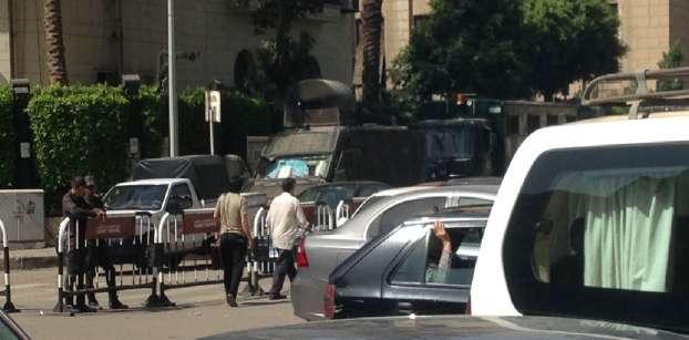 تشديد أمني  بوسط القاهرة عشية 25 أبريل