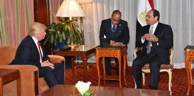 مصر: سنتعاون مع إدارة ترامب في إعادة اطلاق عملية السلام بين فلسطين وإسرائيل