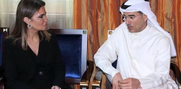 سحر نصر تناقش مع العبار زيادة استثماراته في مصر