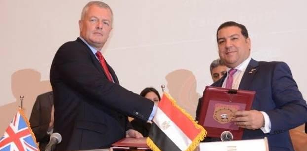 """""""فالكون"""" المصرية و""""ريستراتا"""" البريطانية تتعاونان في تأمين مطارات مصر"""