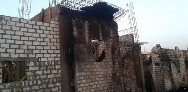 مطرانية المنيا تطالب بمحاسبة المسؤولين عن إحراق منازل أقباط في قرية أبو يعقوب
