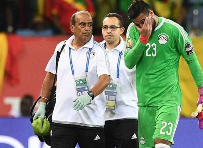 أحمد الشناوي يغادر معسكر المنتخب بالجابون اليوم ويعود إلى القاهرة
