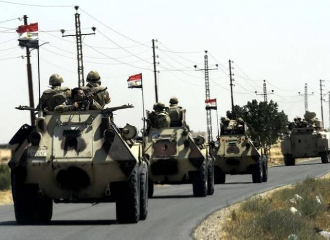 """الجيش: مقتل ثلاثة """"تكفيريين"""" في شمال سيناء"""